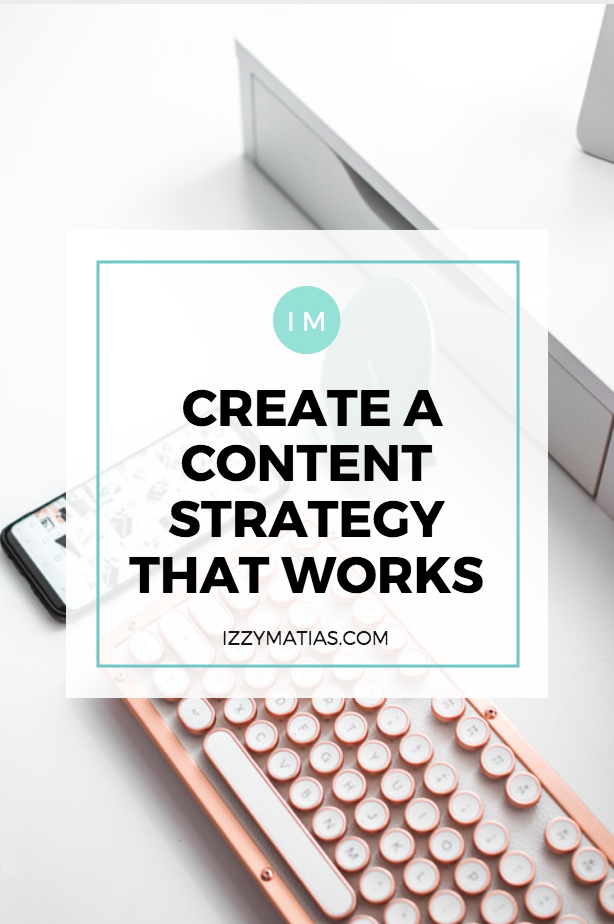 content strategy plan that works