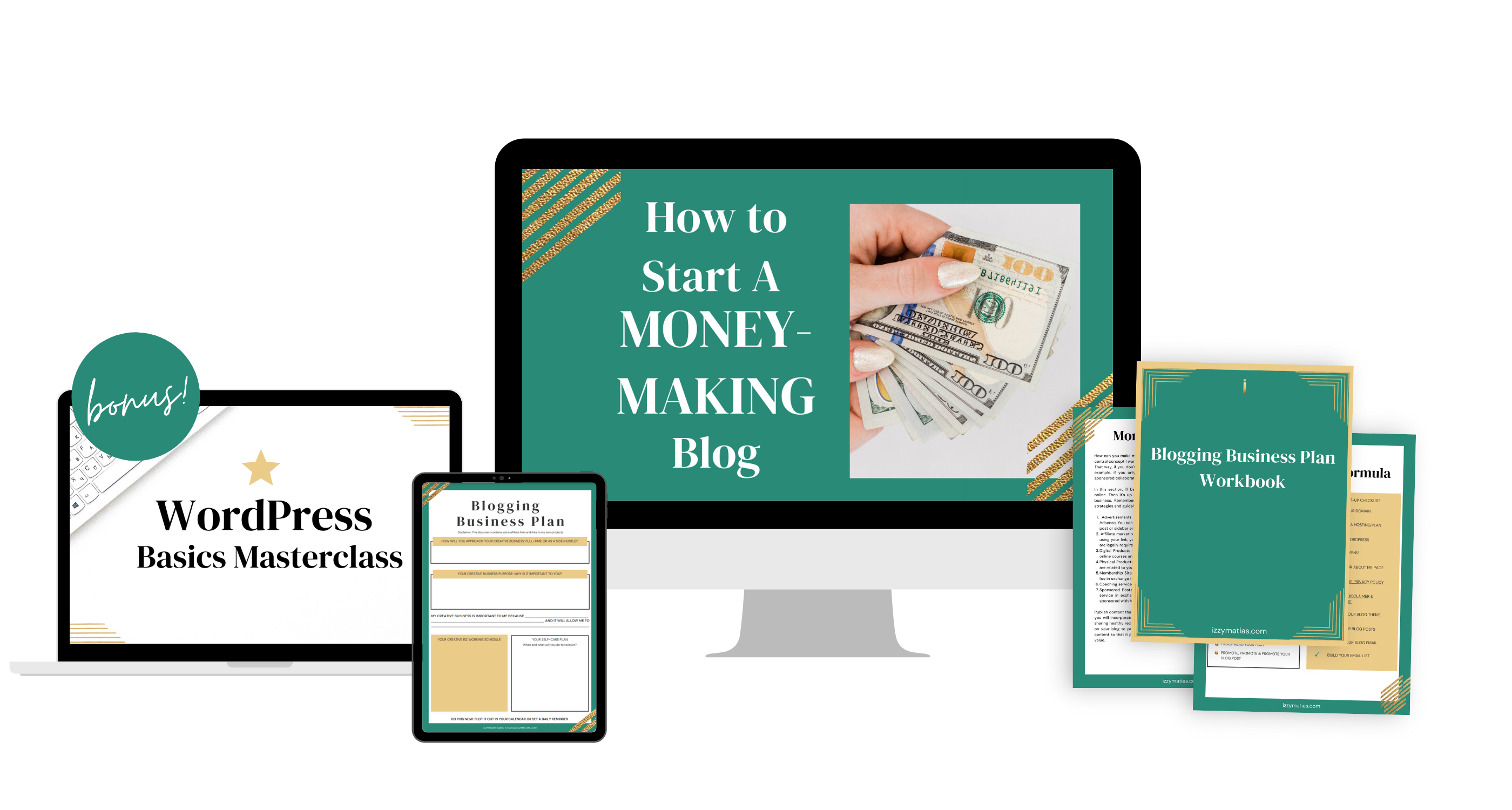 how to start a money making blog course