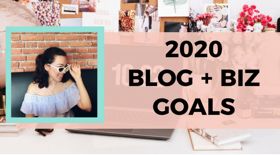 These are the blog and business goals I am prioritising this year as an official full-time blogger and creative entrepreneur.