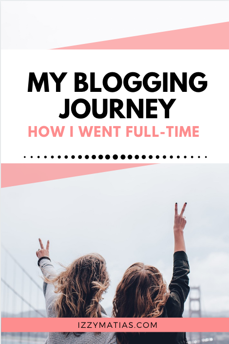 Find out the story behind my blogging journey and what happened before I finally became a full-time blogger and creative entrepreneur.