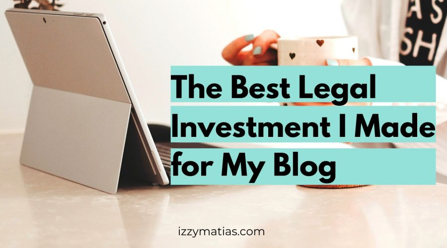 legal templates for bloggers