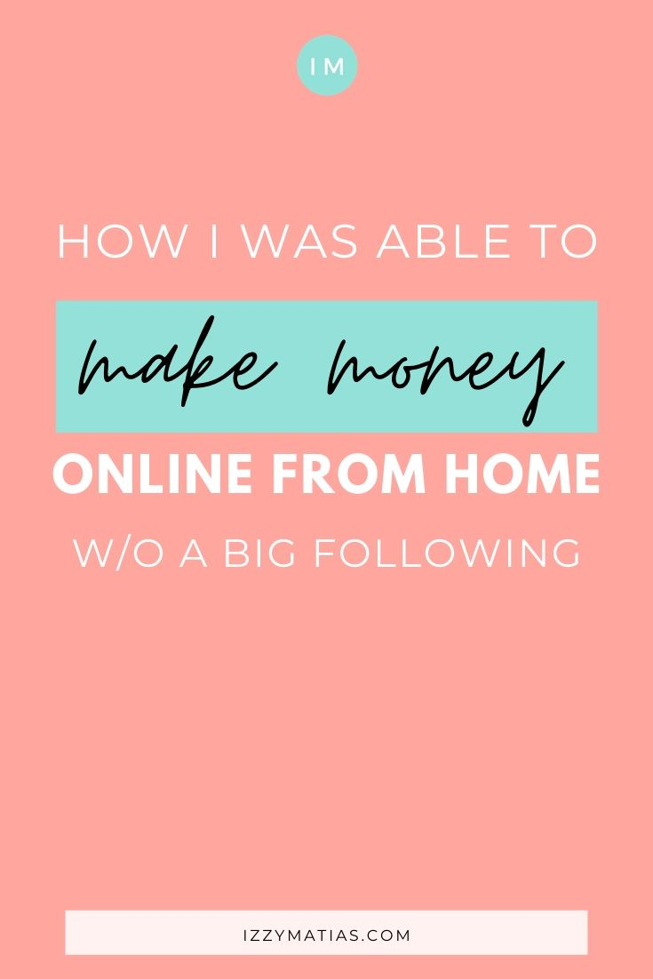 to make money online from home