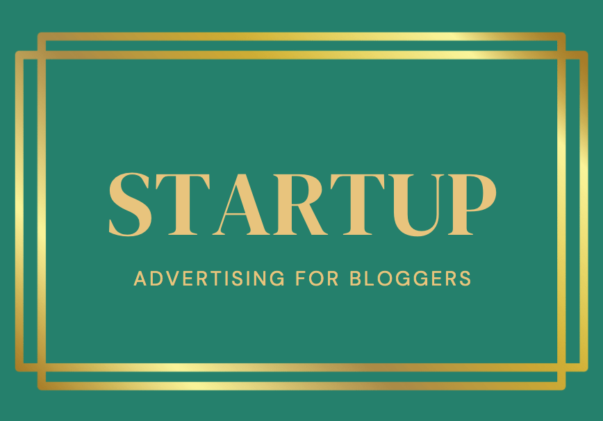 advertising for bloggers start up package