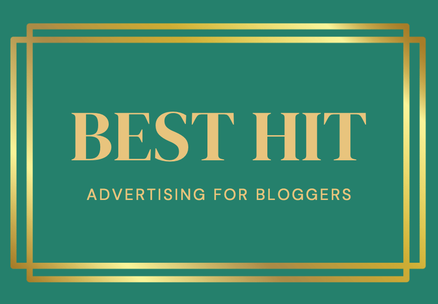 advertising for bloggers best hit package