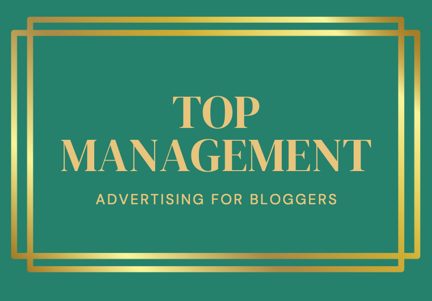 advertising for bloggers top management package
